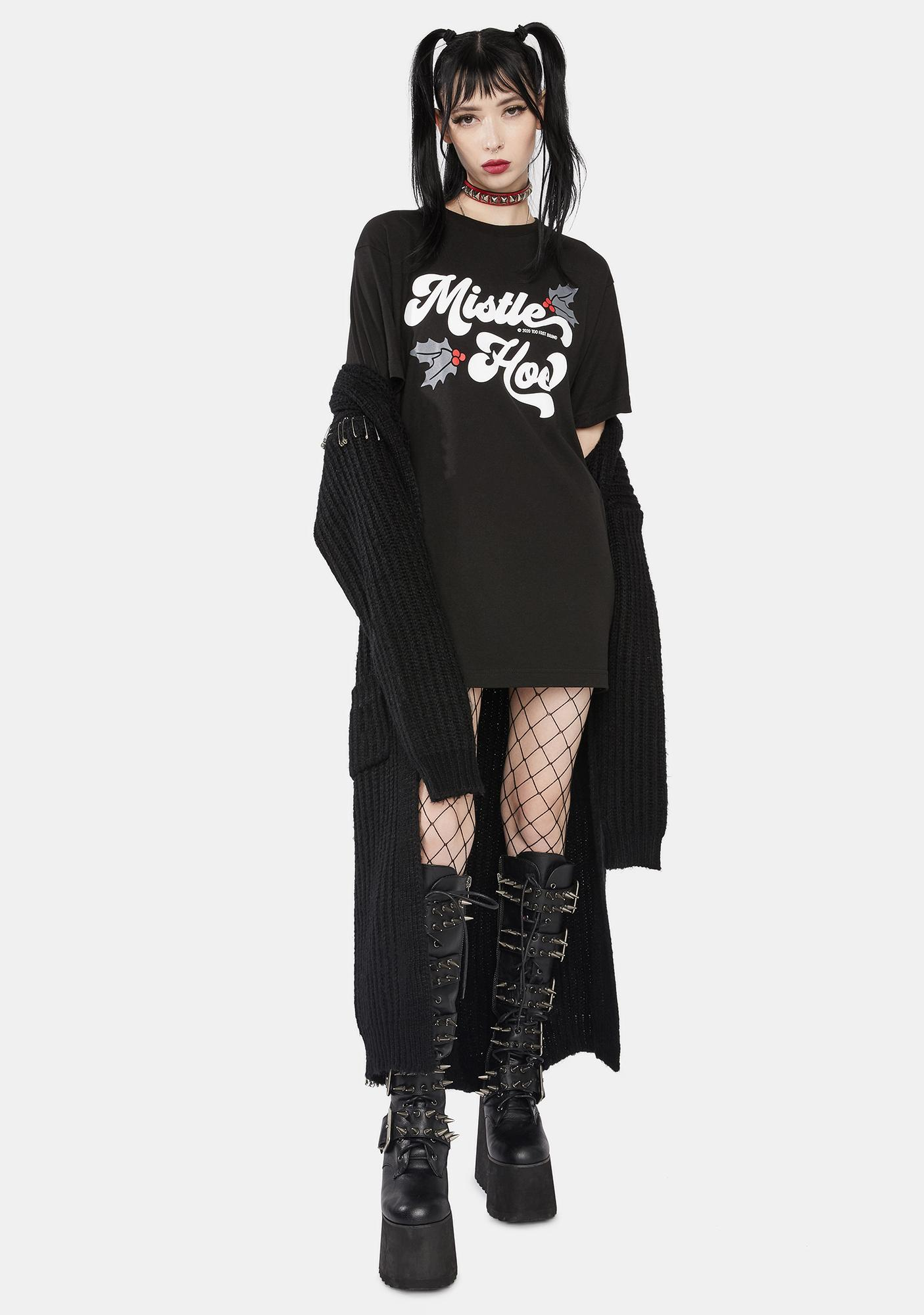 Too Fast Relaxed Fit Mistle Ho Graphic Tee
