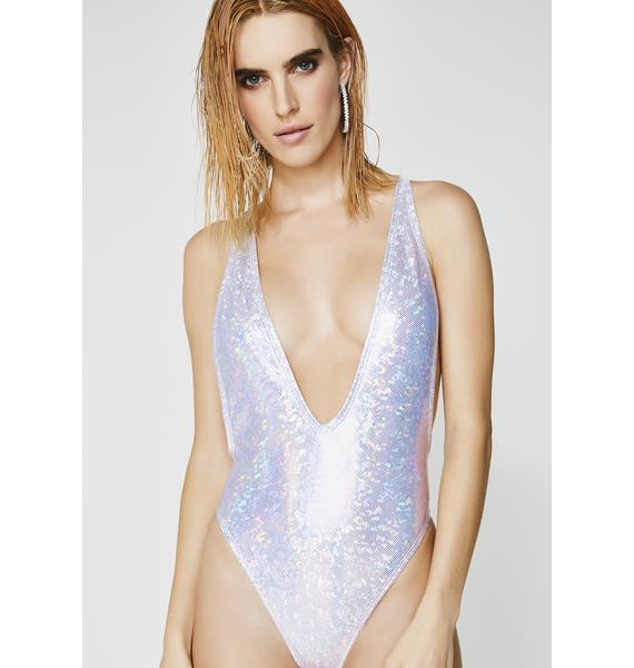 Milky Way Low Cut One Piece