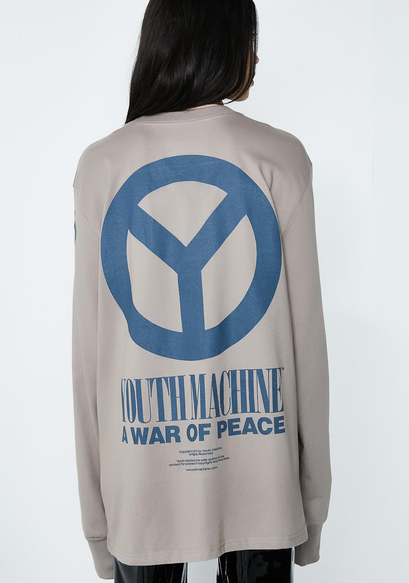 Youth Machine Warriors Long Sleeve