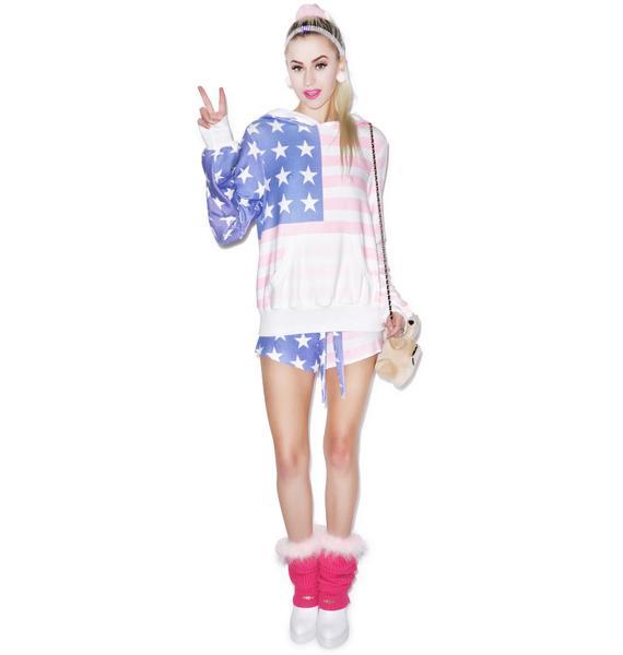 Wildfox Couture Miss America Malibu Pullover