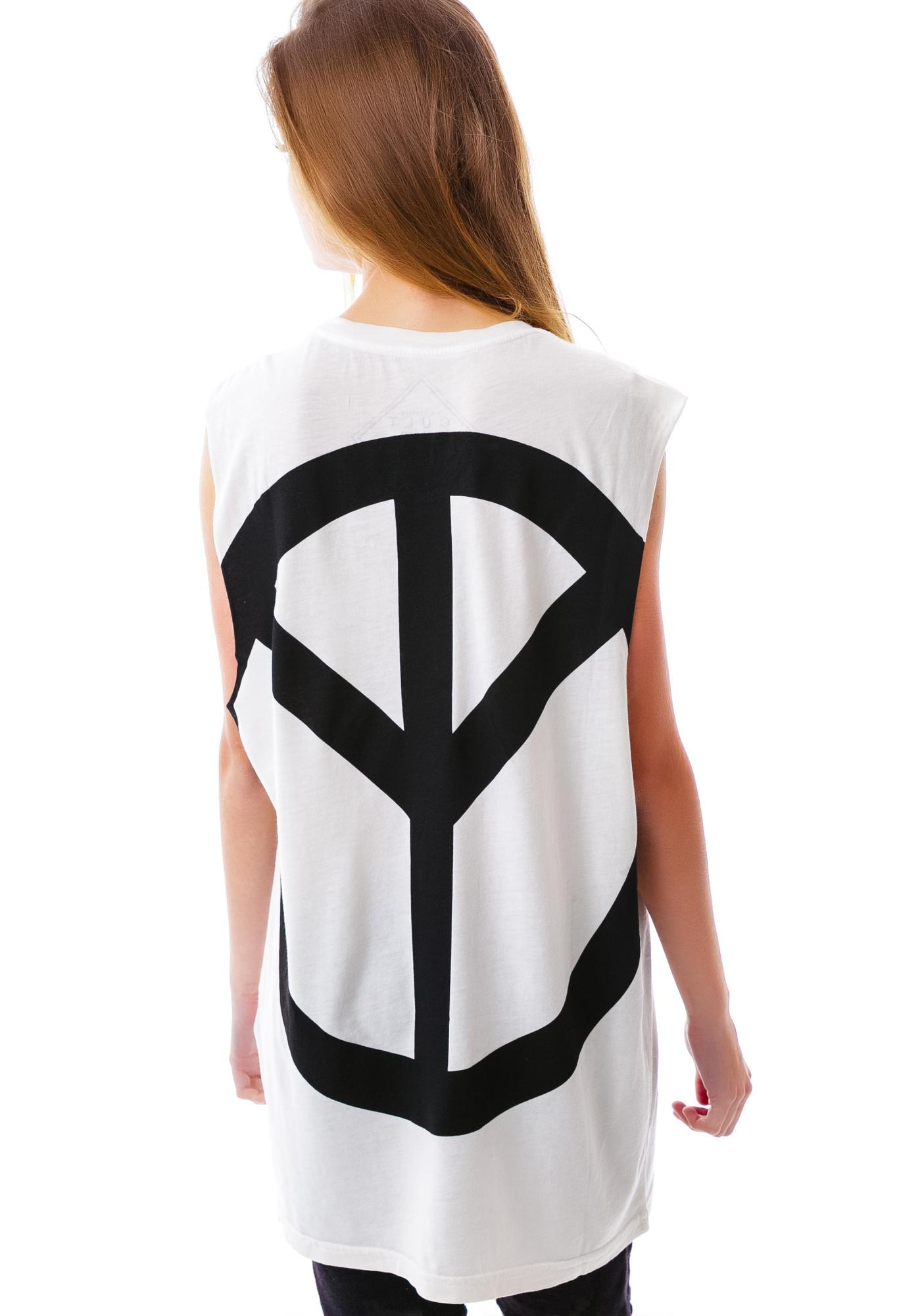 Lip Service Disturb The Peace Sleeveless Tee