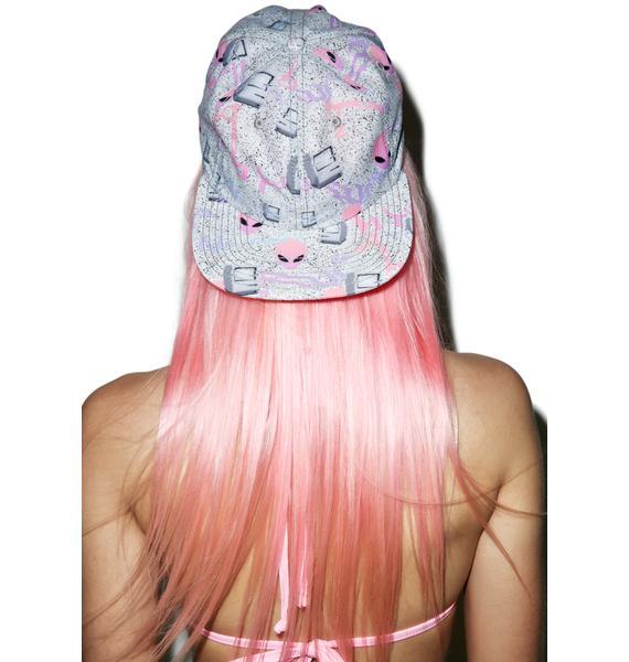 CRSHR Alien Speckled Cyber Punk Hat