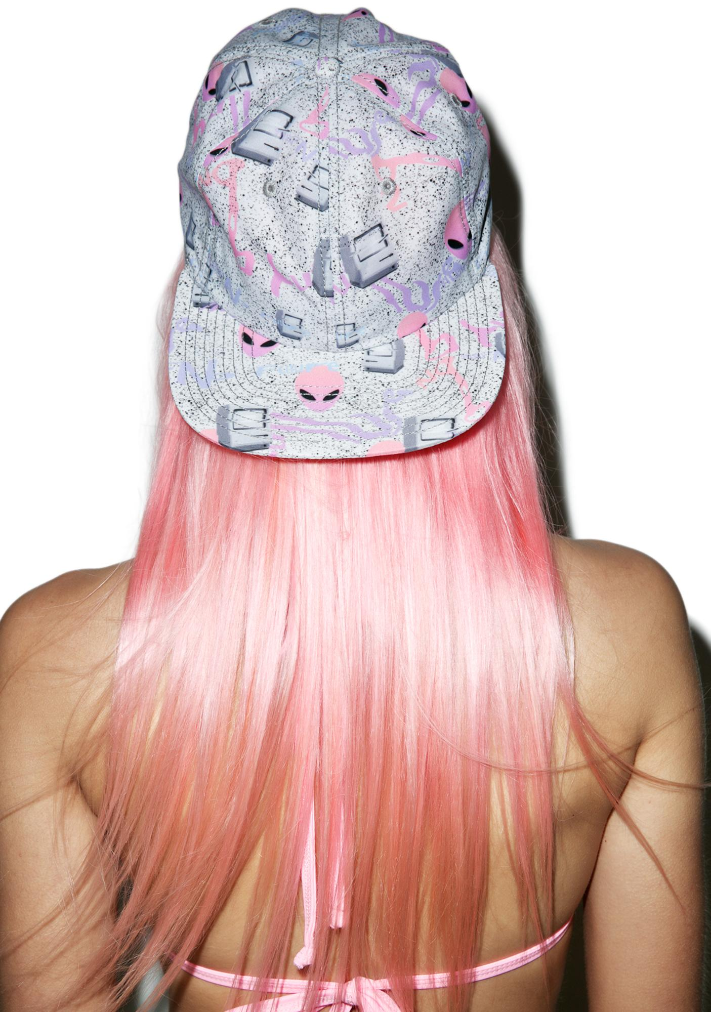 CRSHR Alien Speckled Cyber Punk Hat