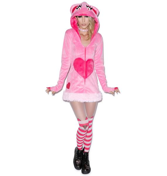 J Valentine Blush Bear Jacket