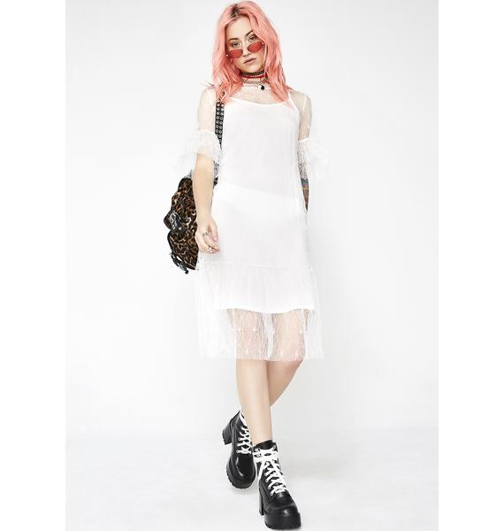 Pure Oh She Cute Lace Dress