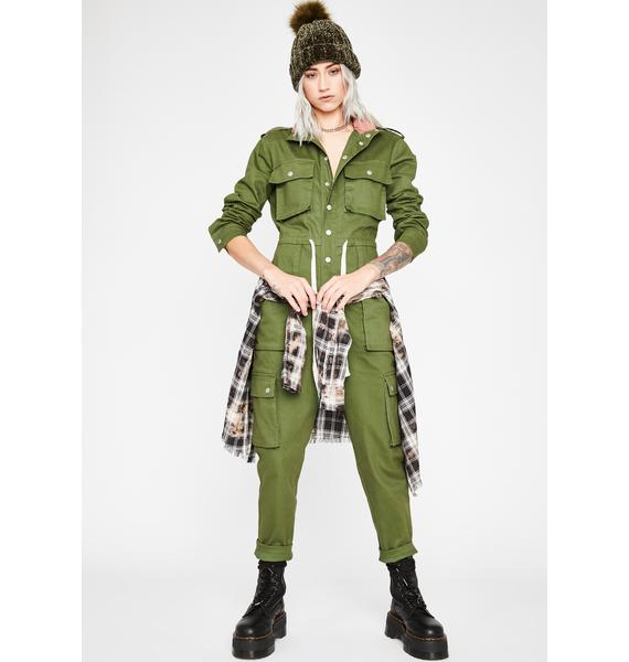 Game Changer Cargo Jumpsuit
