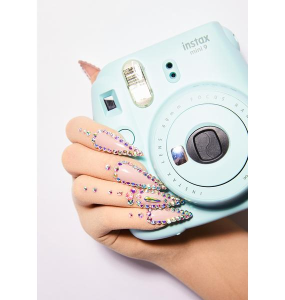Unicorns Poop Glitter Naked Nail Gloves