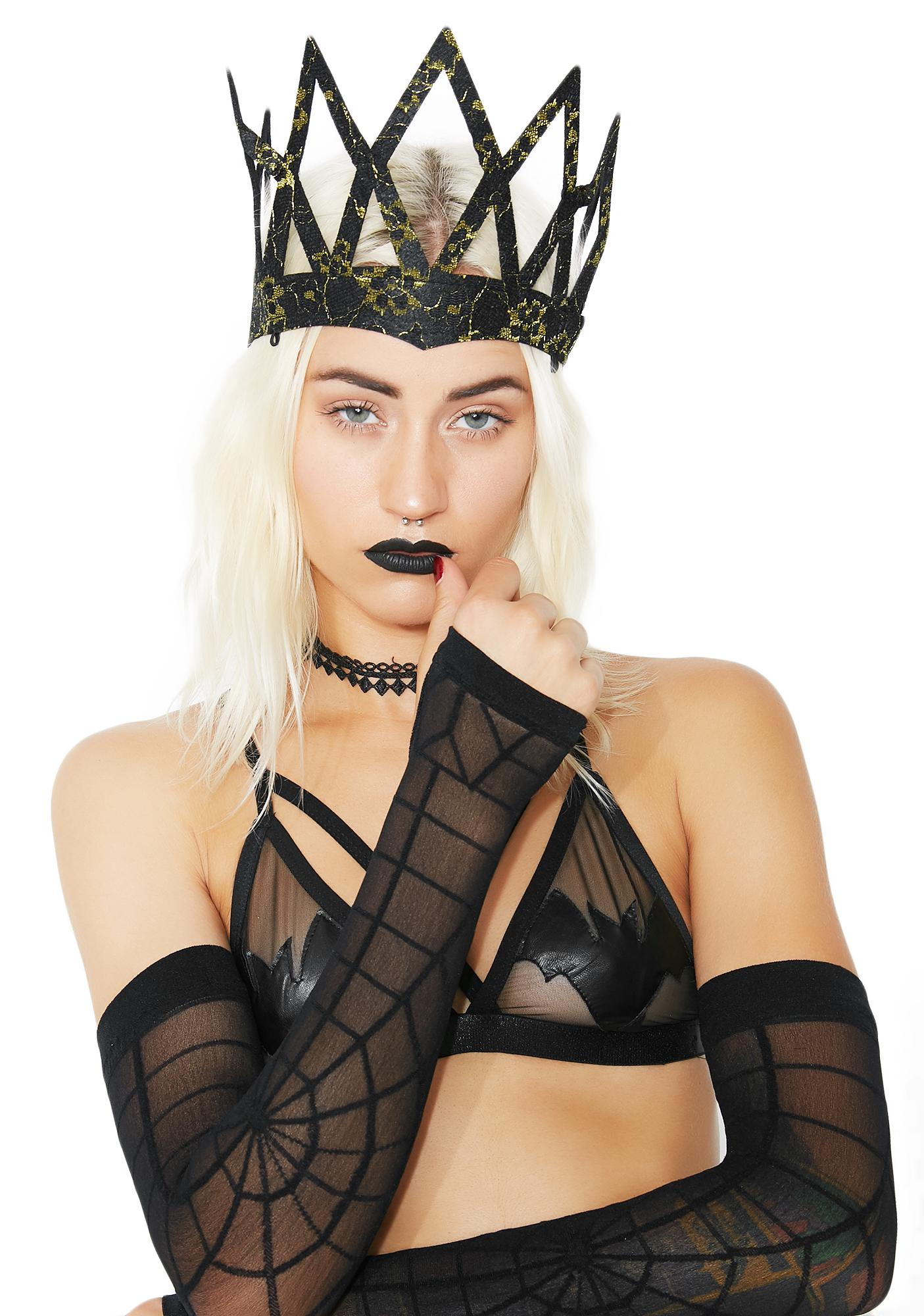 Happily Never After Lace Crown