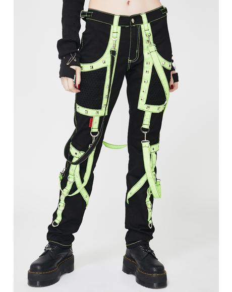 Lime Crush Bondage Pants