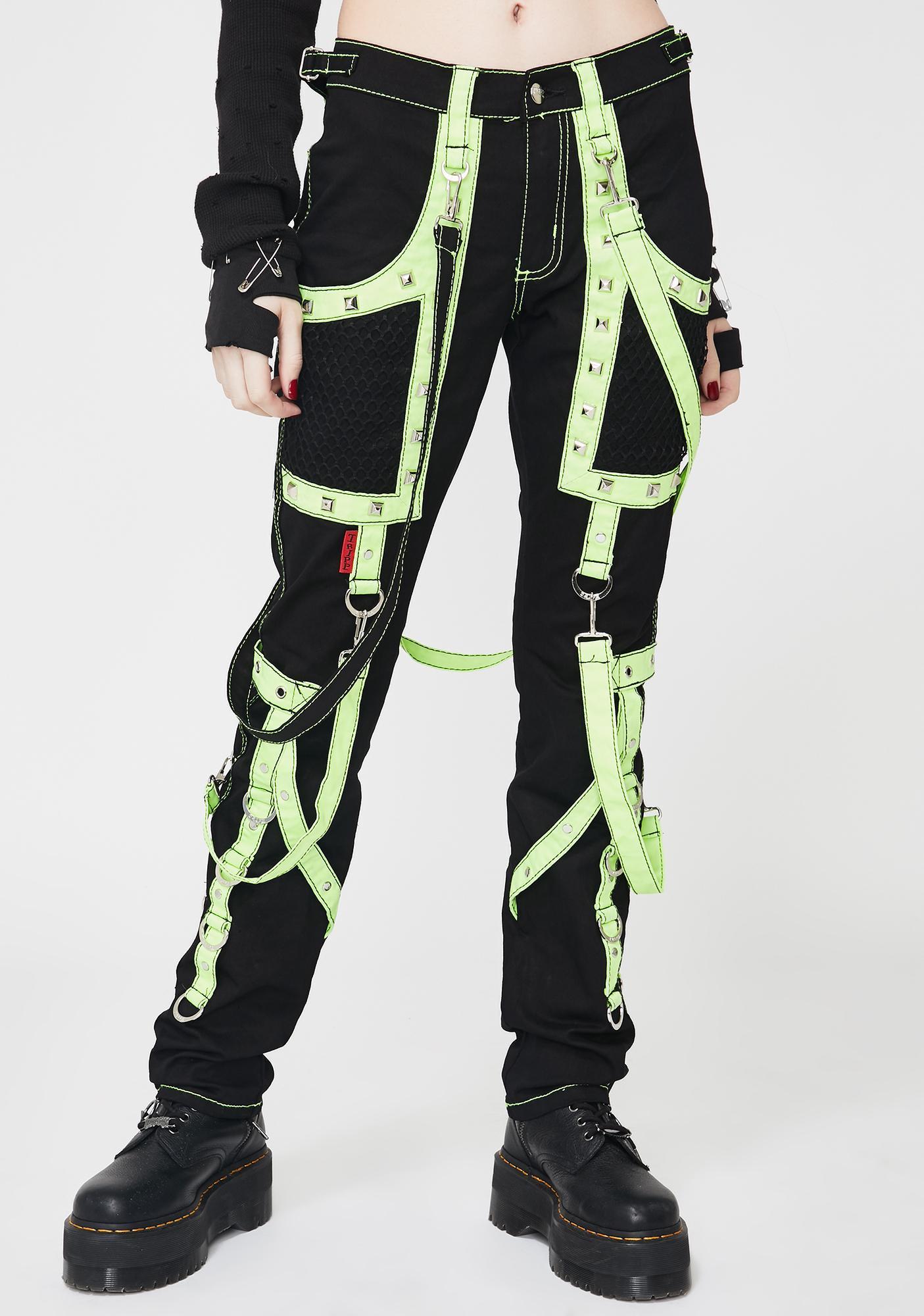 Tripp NYC Lime Crush Bondage Pants