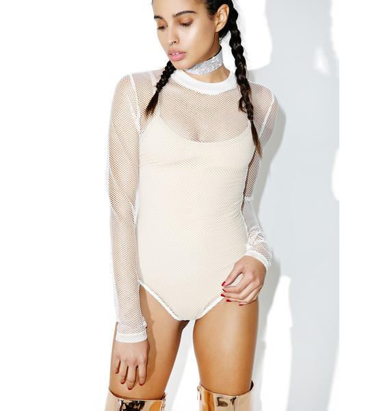 Bare It All Mesh Bodysuit