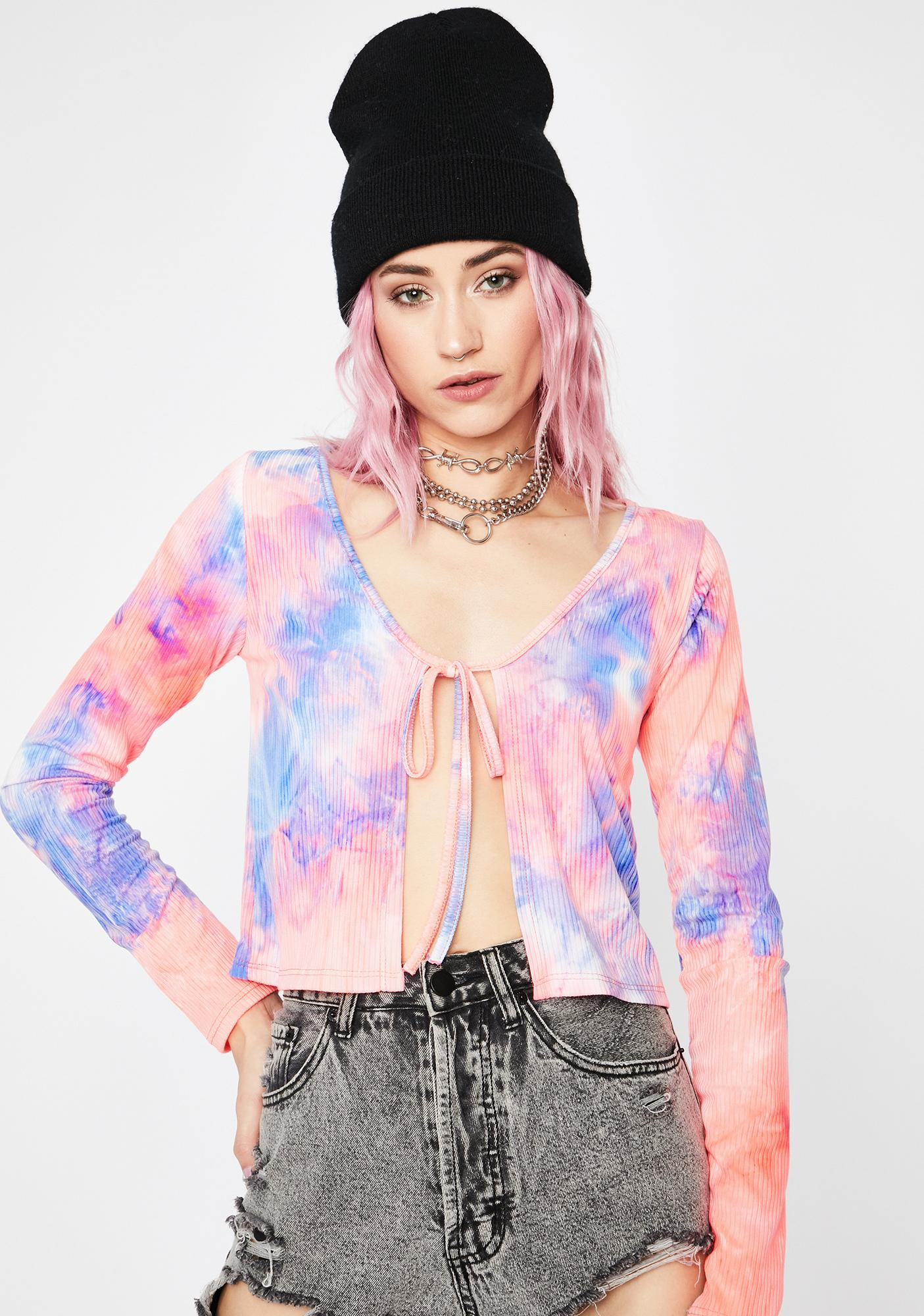 Trippy Takeover Crop Top