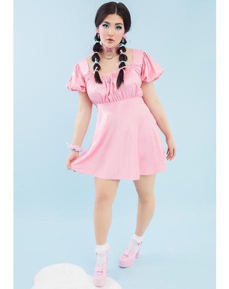 We're Here To Cheer Mini Dress