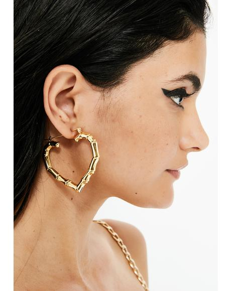 Super Fly Bamboo Hoops