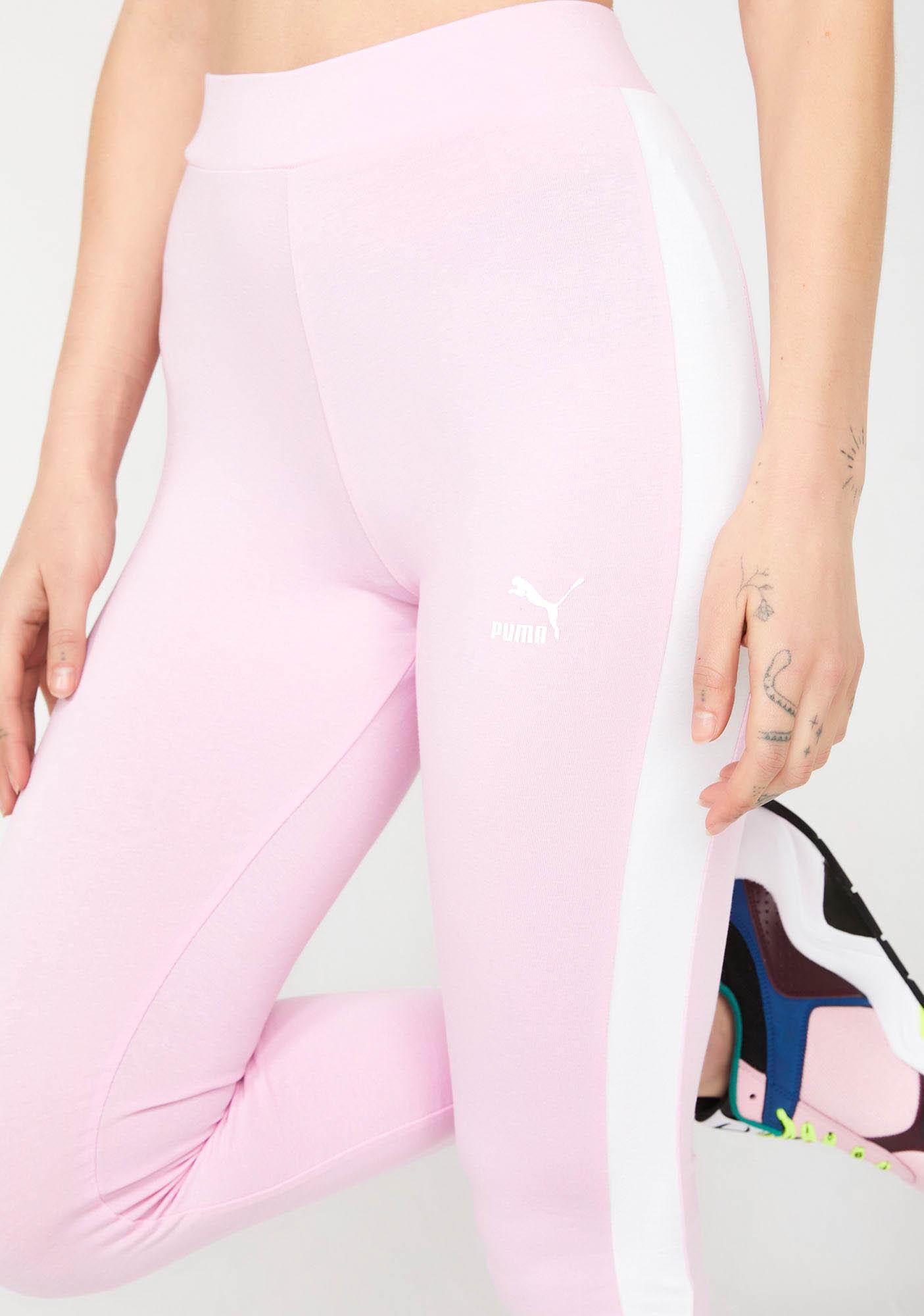 PUMA Sweet Classics Logo T7 Leggings