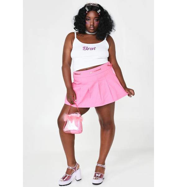 Sugar Thrillz So Rich N' Famous Mini Skirt