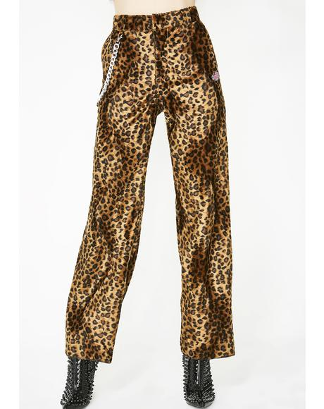 OG Leopard Chain Pants