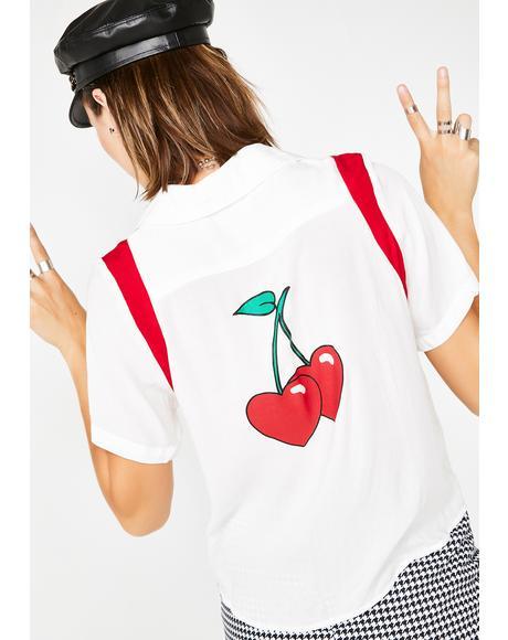 Cherry Baby Top