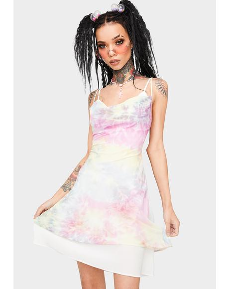 Sweet Disposition Tie Dye Dress