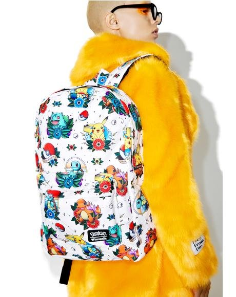 X Pokemon Tattoo Backpack