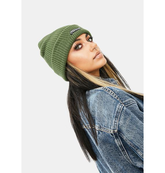 No Hours Watchmen Ribbed Beanie
