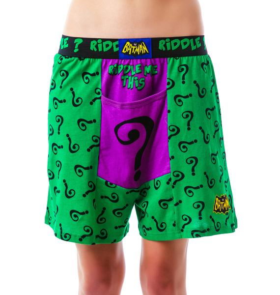 Undergirl Riddle Me This Boxer
