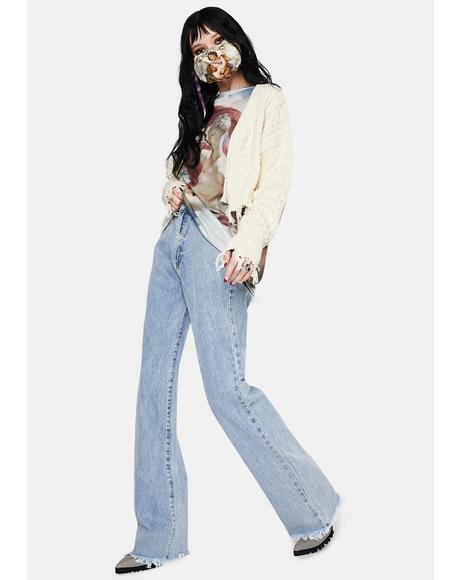 Zara 90's Wide Leg Jeans