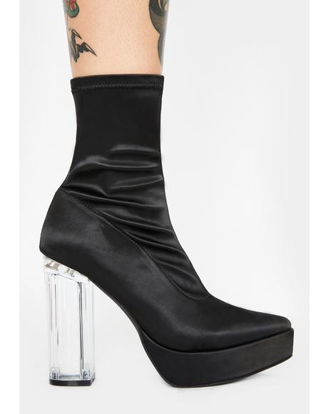 Power Hungry Heeled Booties
