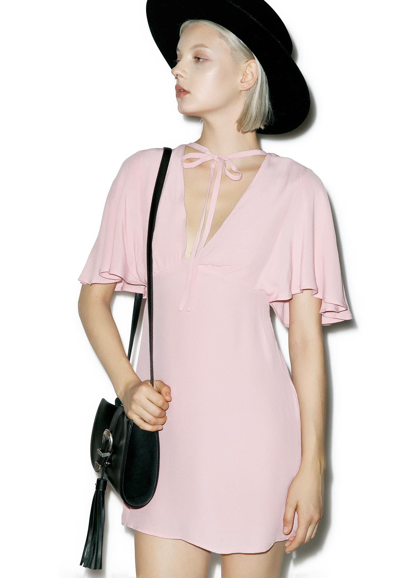 At First Glance Blush Dress