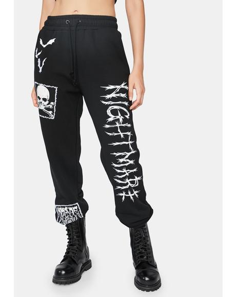 Spooks N' Scares Graphic Joggers