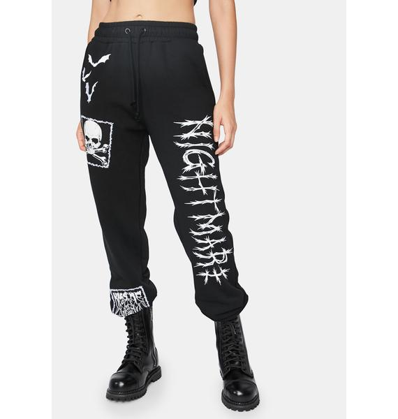 Dolls Kill Spooks N' Scares Graphic Joggers