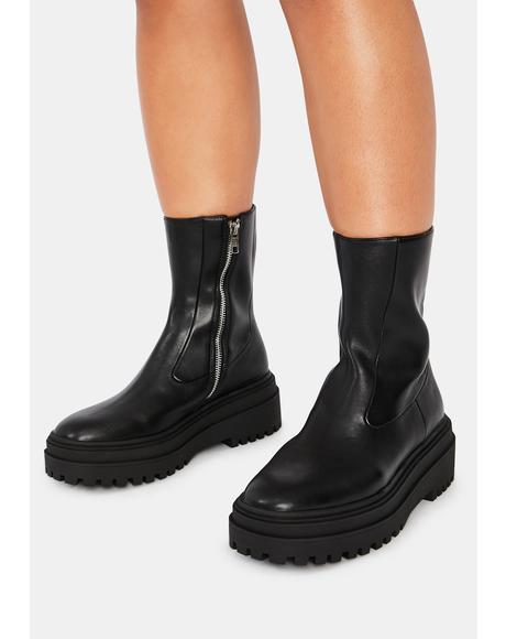 Black Dallas Boots