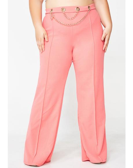 Bubblegum Off The Chain High Waist Pants