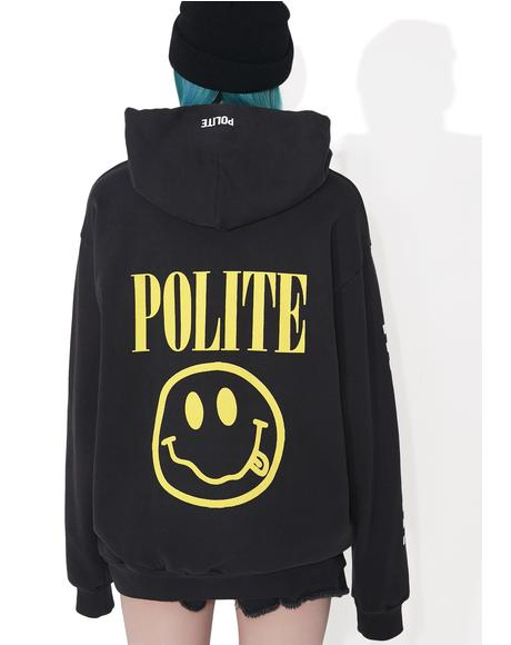 Smiley Pullover Hoodie
