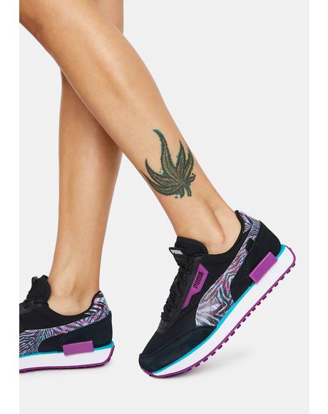Neon Safari Future Rider Women's Sneakers