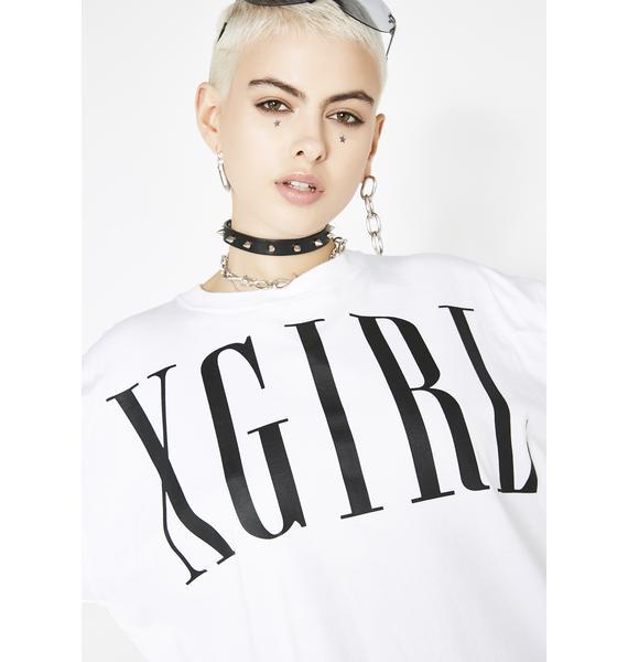 x-Girl Classic Logo Big Tee