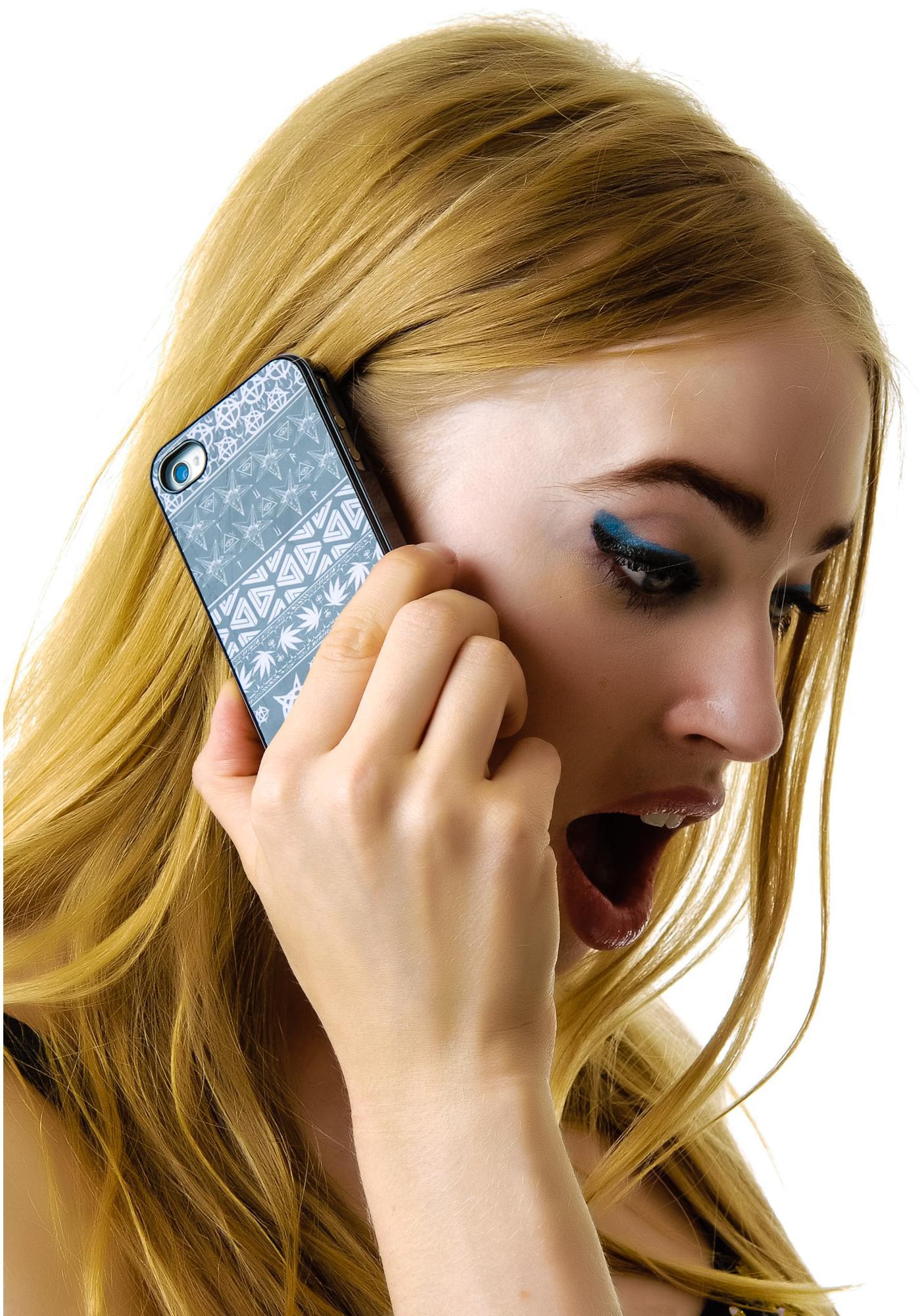 Disturbia Symbols iPhone Case