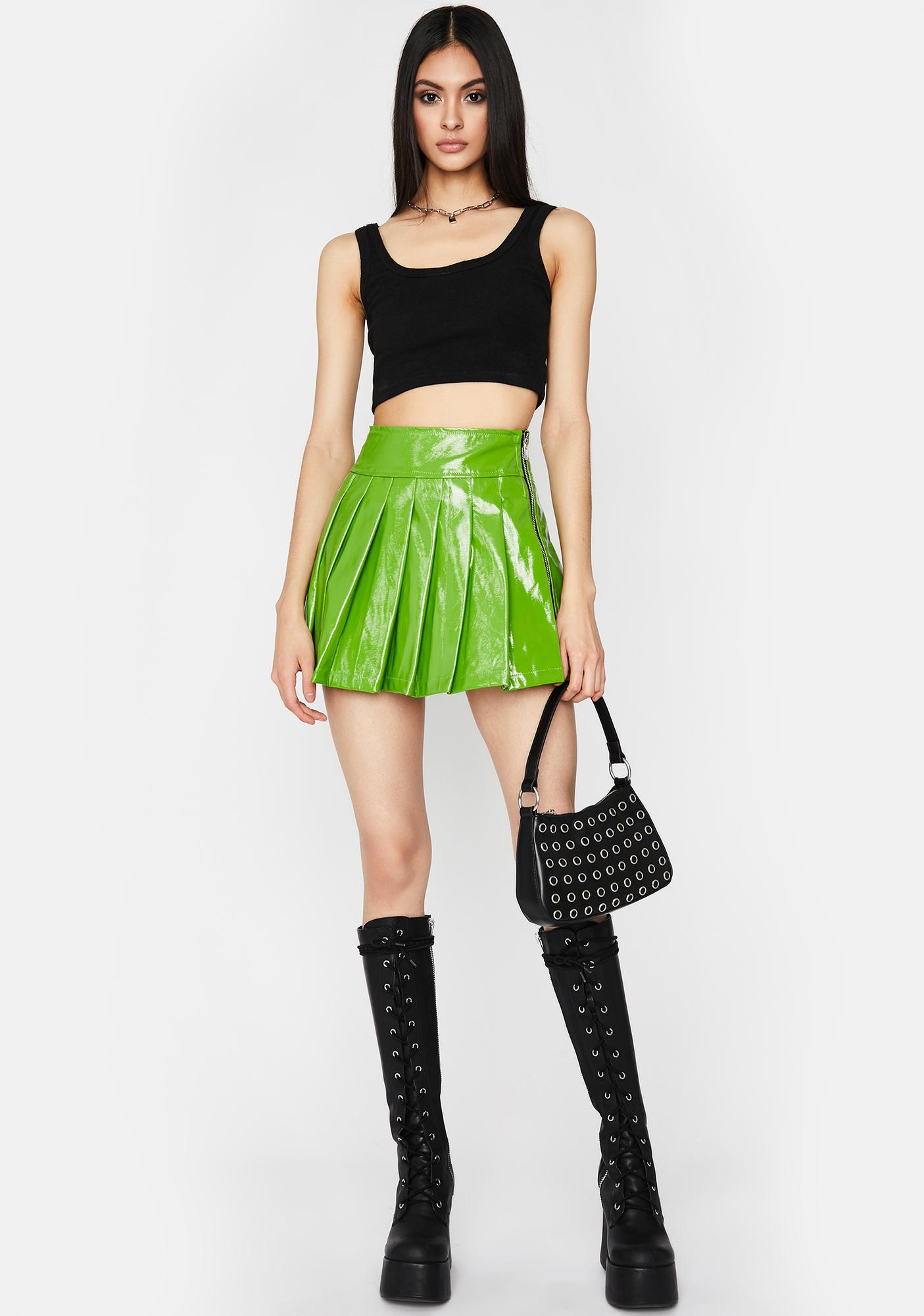 Nuclear Going Rogue Pleated Skirt