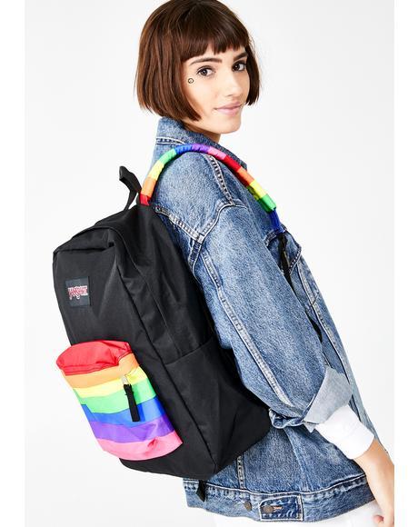 High Stakes Rainbow Dream Backpack