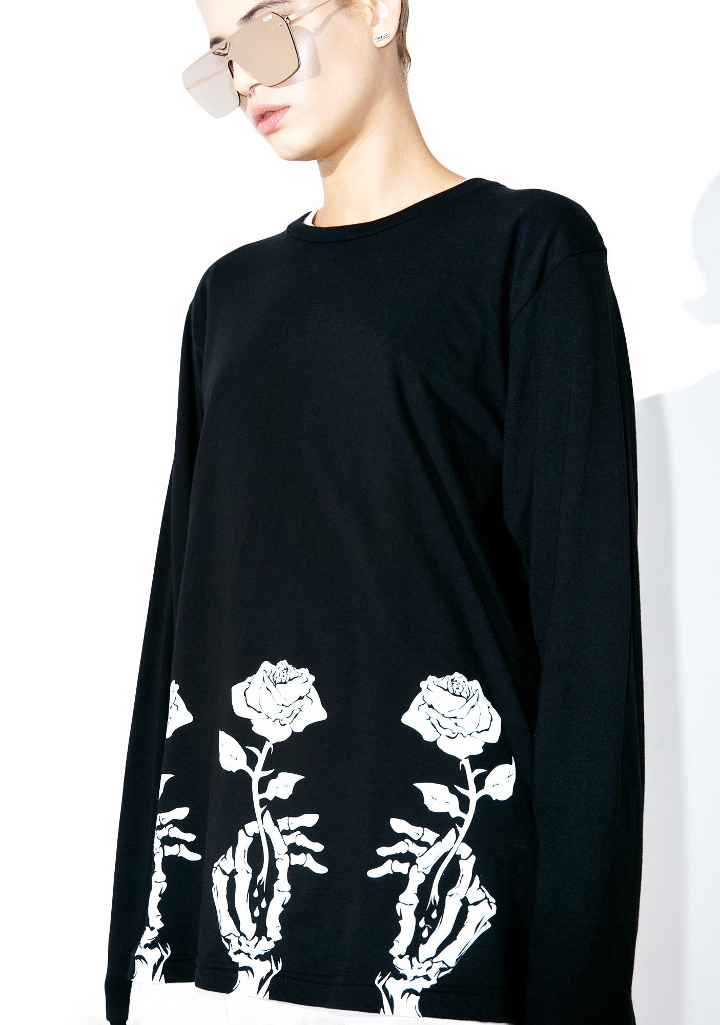 ABVHVN While Alive Long Sleeve T-Shirt