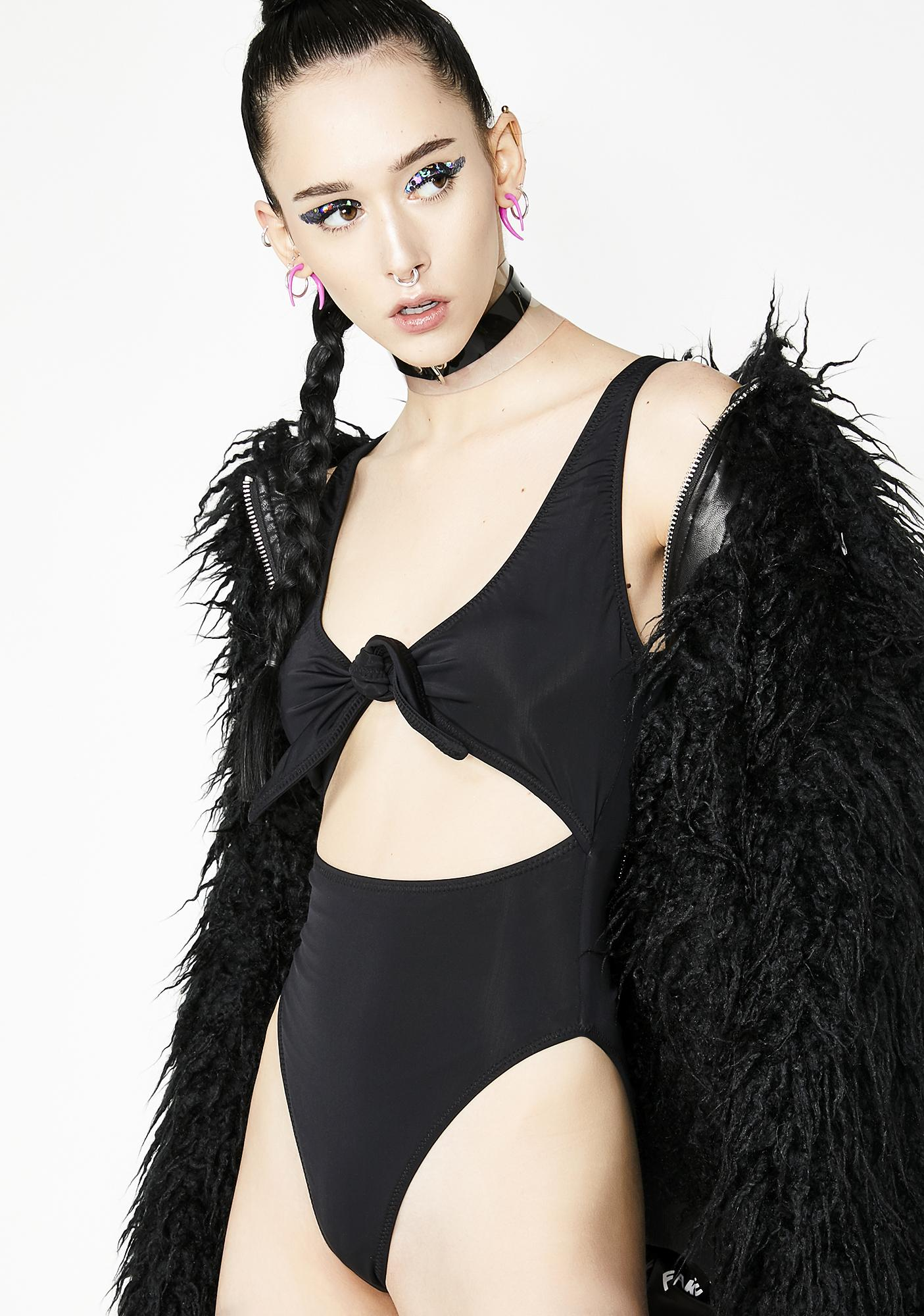 Kiki Riki Sinister Romance Tyrant Cut Out Bodysuit