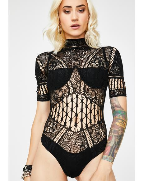 Secret Invite Lace Bodysuit