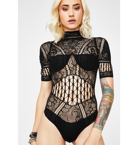 Secret Invite Lace Bodysuit