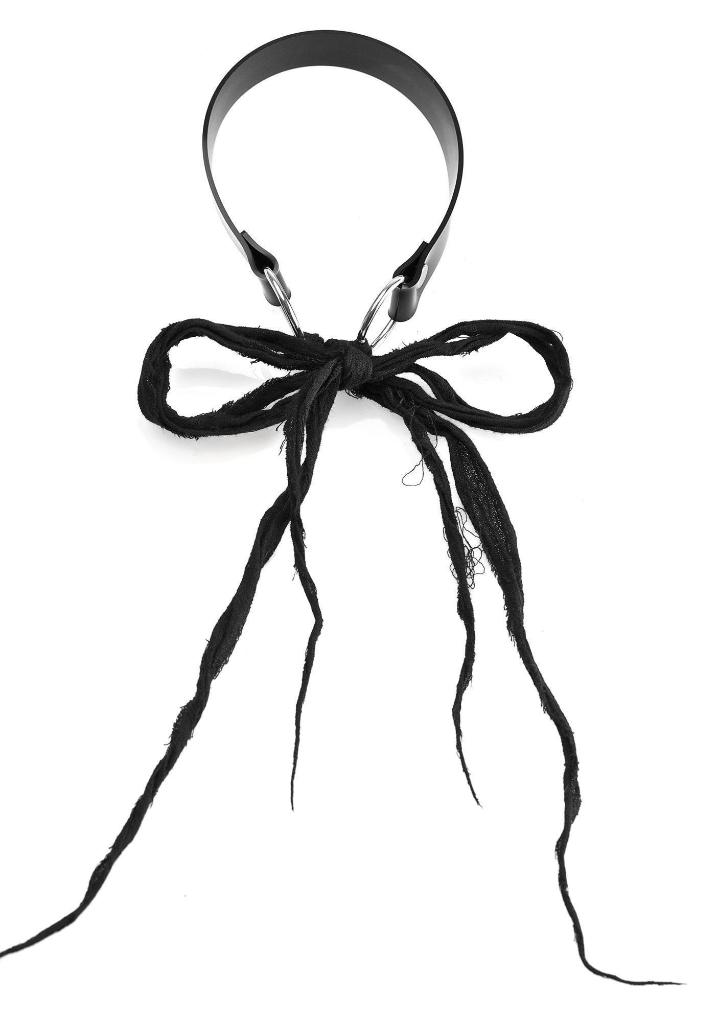 Apatico Wraith Bow Collar Choker