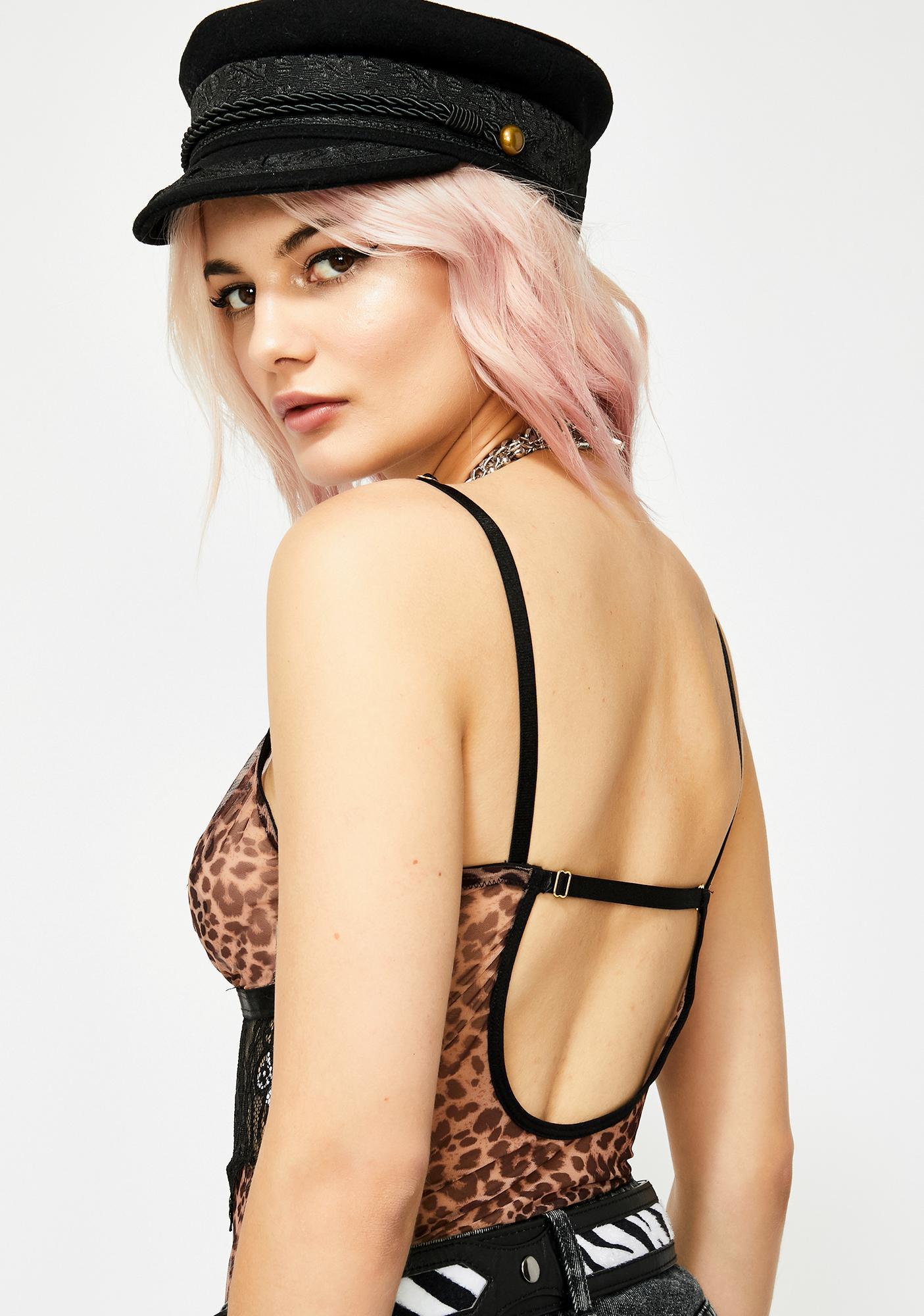 Sassy Prey Leopard Bodysuit