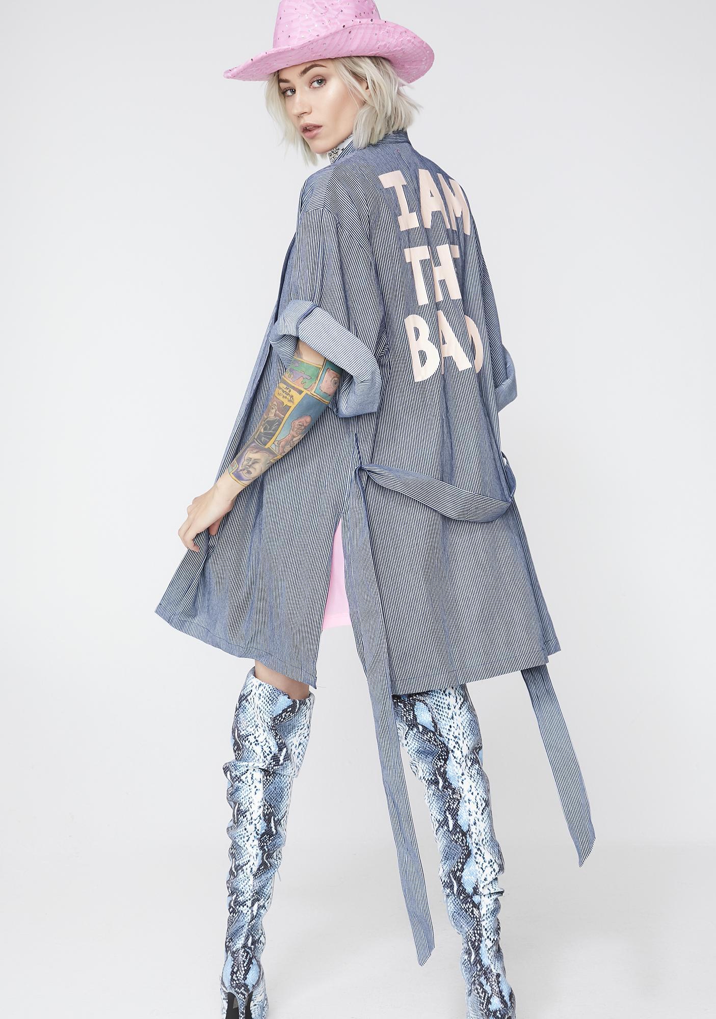 I Am The Band Graphic Kimono