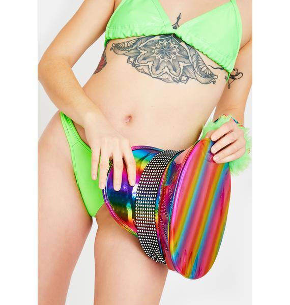 Spectrum Bliss Holographic Hat