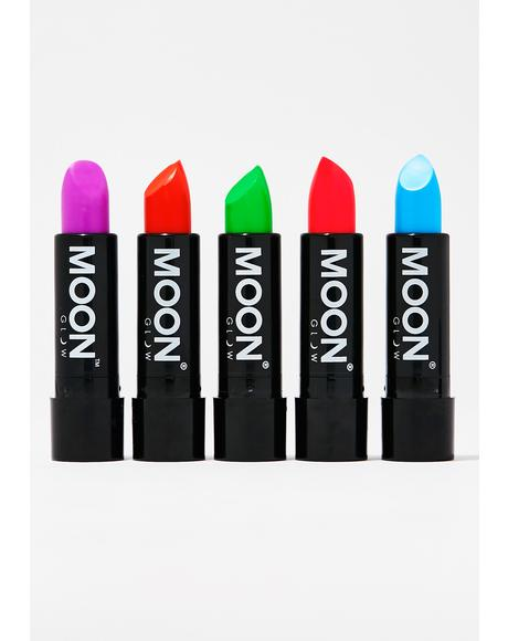 Neon Red UV Lipstick