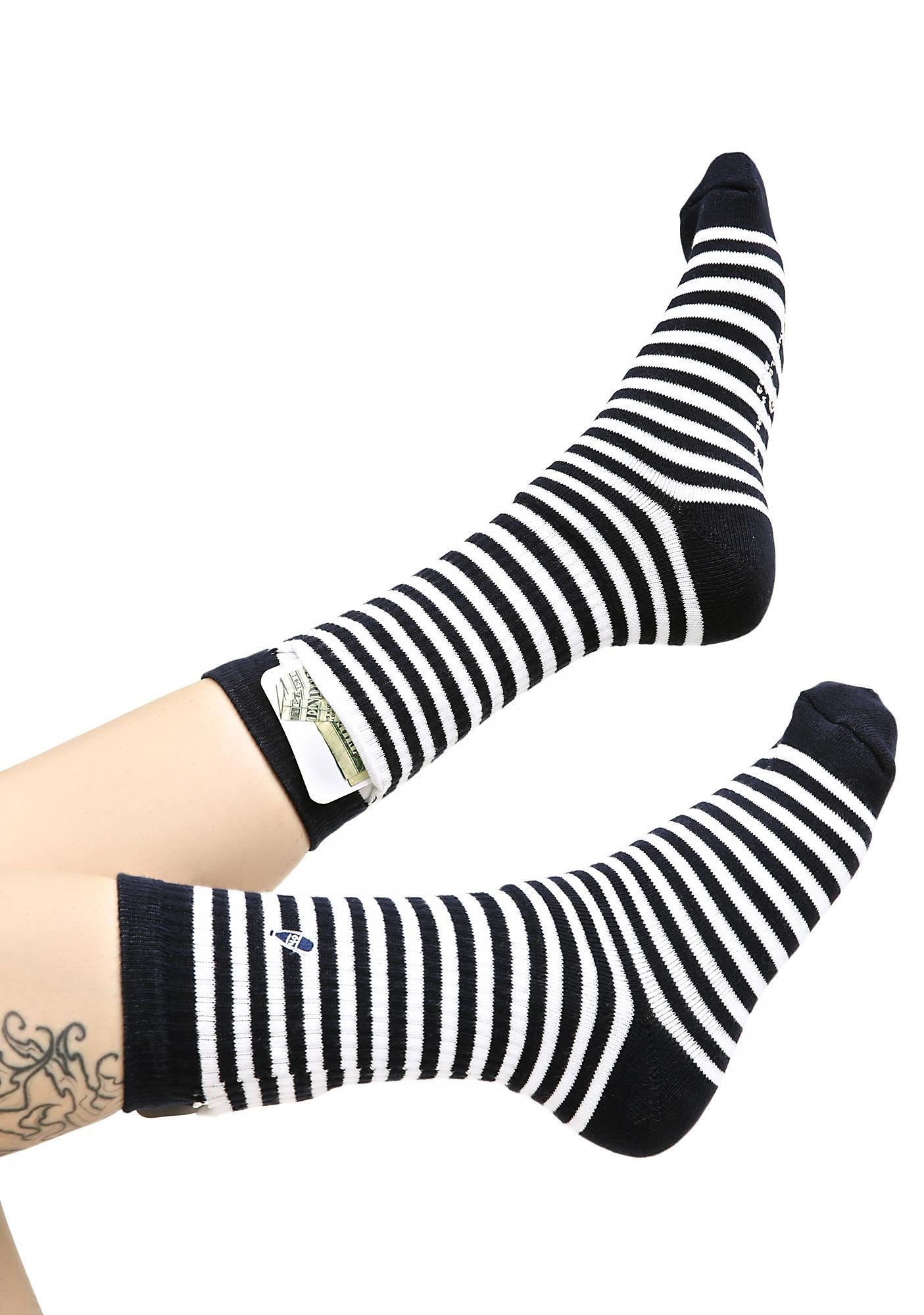 40s & Shorties Jackson Pocket Socks