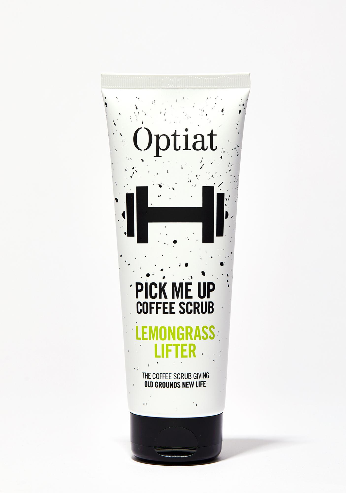 Optiat Pick Me Up Lemongrass Lifter Coffee Scrub